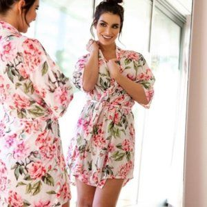 Show Me Your Mumu Brie Garden of Blooms Robe, O/S